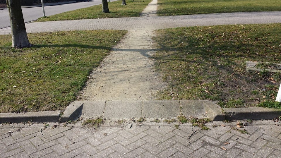 De Bovendonk en het verdwenen voetpad