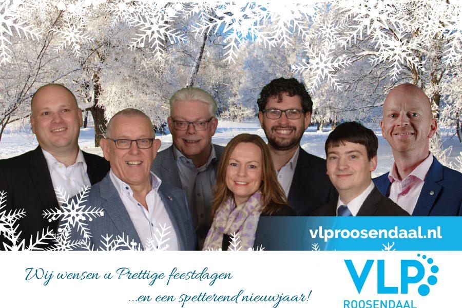 Bestuur en Fractie van de VLP wensen u fijne feestdagen en een gezond en liefdevol 2020!
