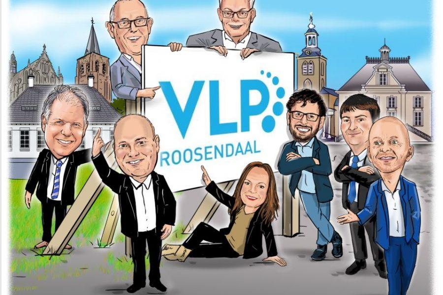 Met dank aan Erik Elich hebben wij een prachtige karikatuur mogen ontvangen van onze fractie.
