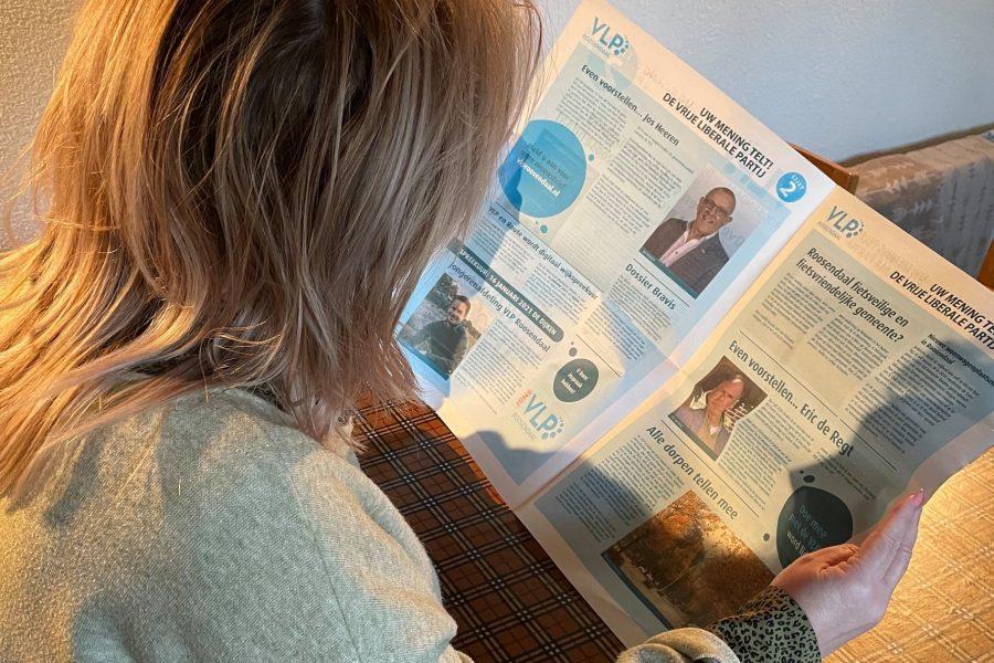 De jaarlijkse VLP-krant is er weer.