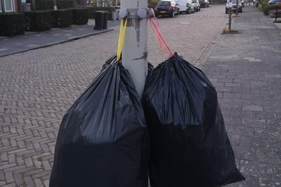 Onze fractie heeft gepleit voor betere communicatie rondom het aanbieden van plastic afval.