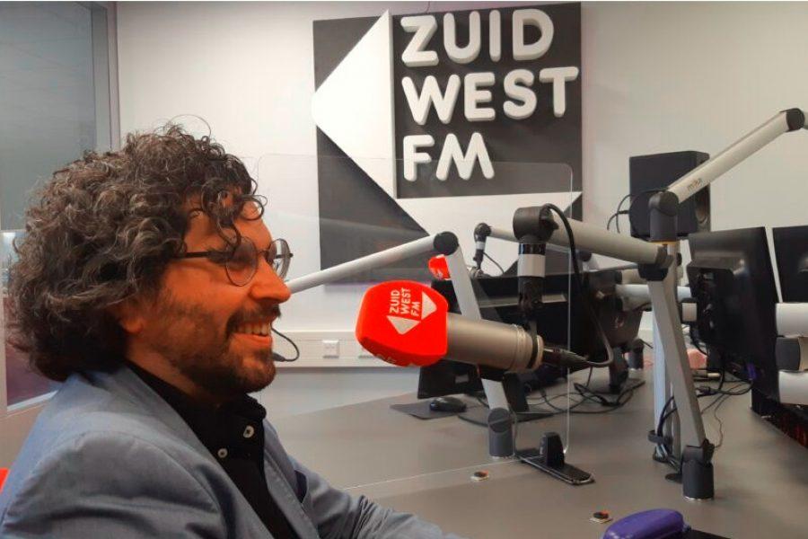 Arwen van Gestel (VLP) te gast in het Fractiehuis op ZuidWest FM