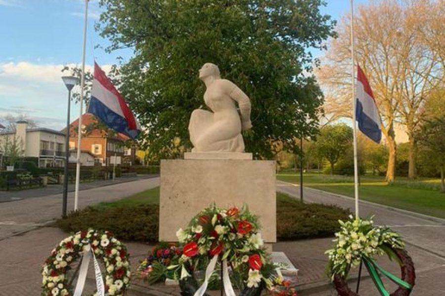 Ook in Roosendaal was onze fractie aanwezig bij de indrukwekkende Dodenherdenking in de Parklaan.